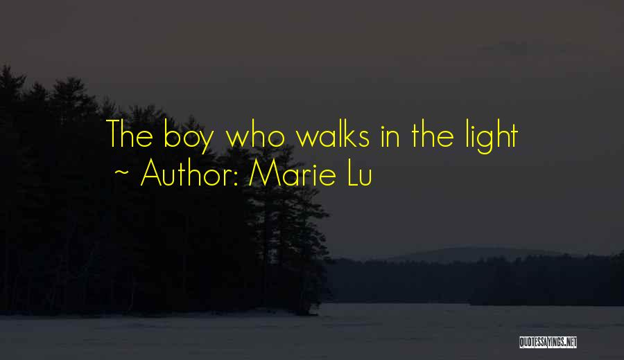 The Way She Walks Quotes By Marie Lu