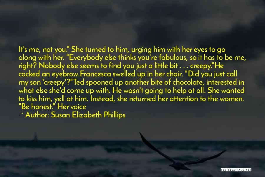The Way She Walks Quotes By Susan Elizabeth Phillips