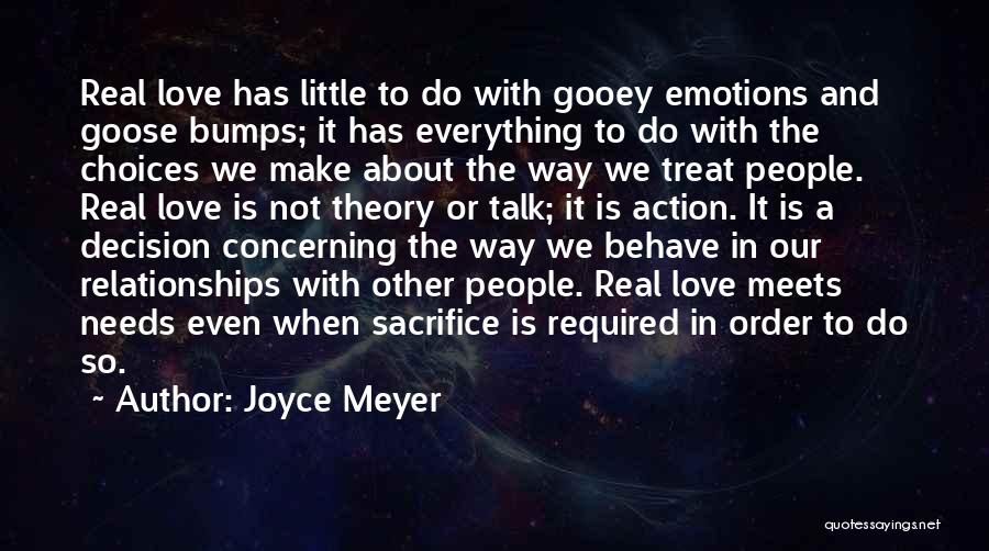 The Way We Make Love Quotes By Joyce Meyer