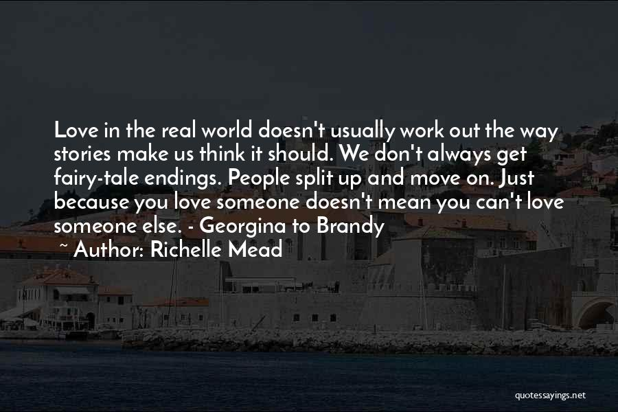 The Way We Make Love Quotes By Richelle Mead