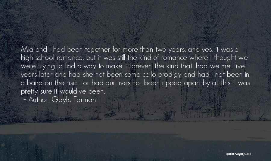 The Way We Met Quotes By Gayle Forman