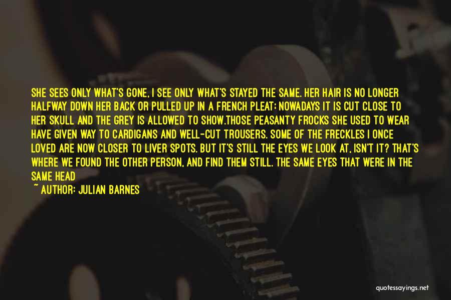 The Way We Met Quotes By Julian Barnes