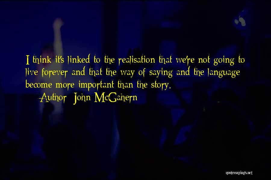 The Way We Think Quotes By John McGahern