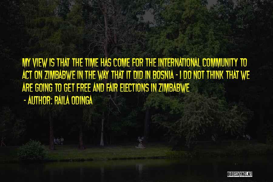 The Way We Think Quotes By Raila Odinga