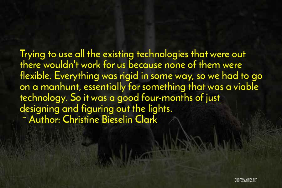 The Way We Work Quotes By Christine Bieselin Clark