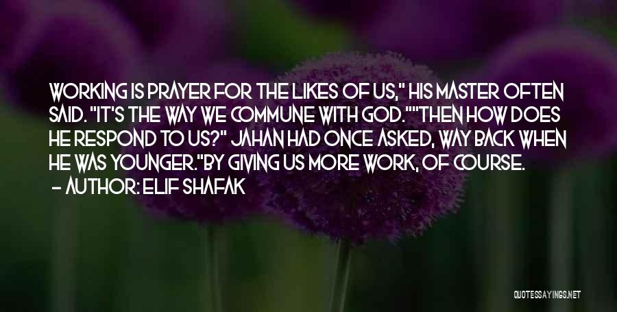 The Way We Work Quotes By Elif Shafak