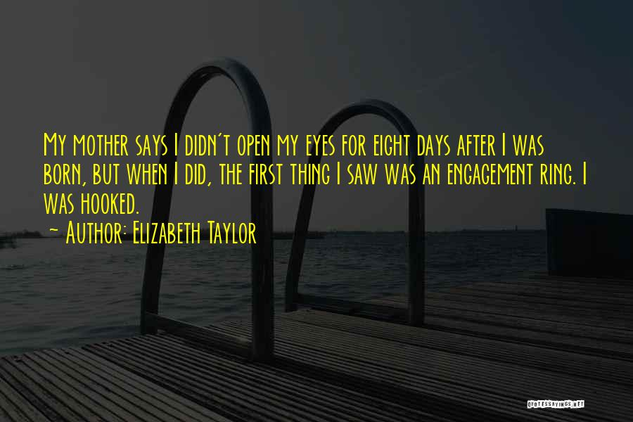 The Wedding Ring Quotes By Elizabeth Taylor