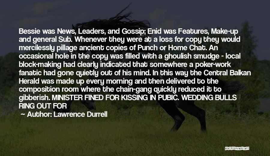 The Wedding Ring Quotes By Lawrence Durrell
