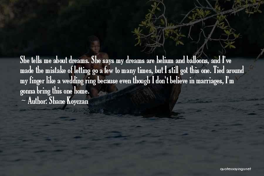 The Wedding Ring Quotes By Shane Koyczan