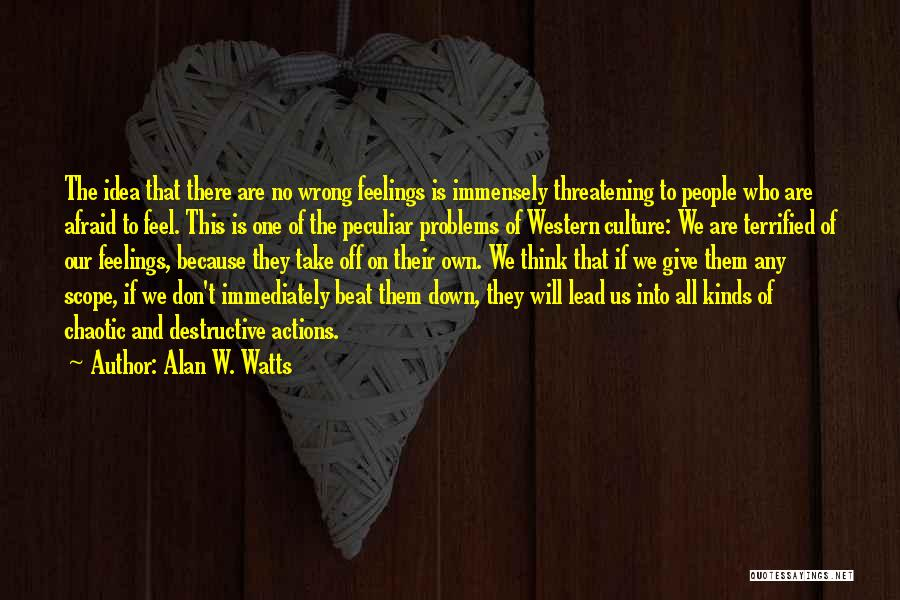 The Western Us Quotes By Alan W. Watts