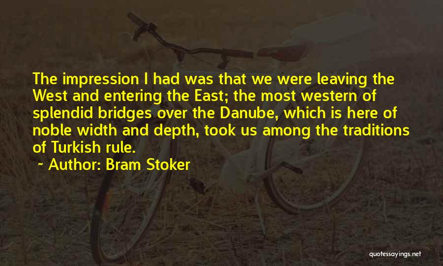 The Western Us Quotes By Bram Stoker