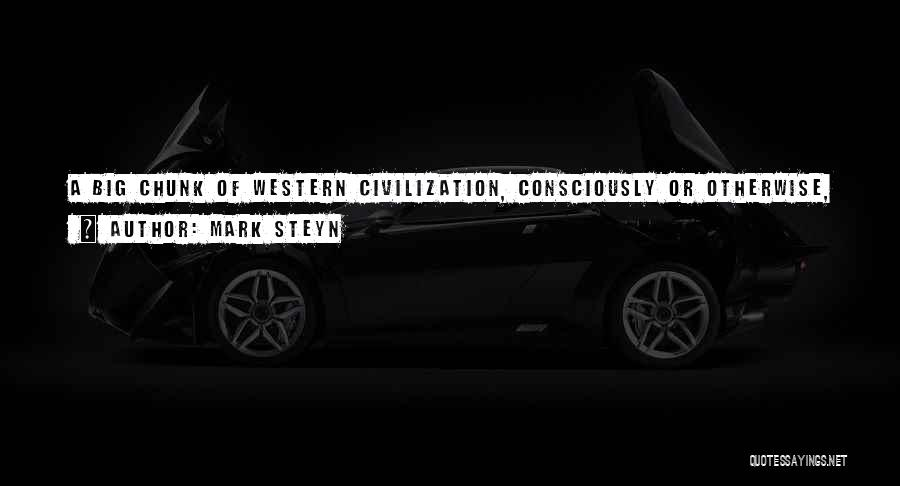 The Western Us Quotes By Mark Steyn