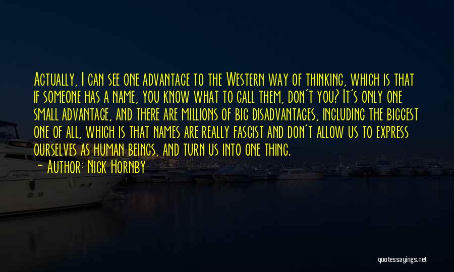 The Western Us Quotes By Nick Hornby