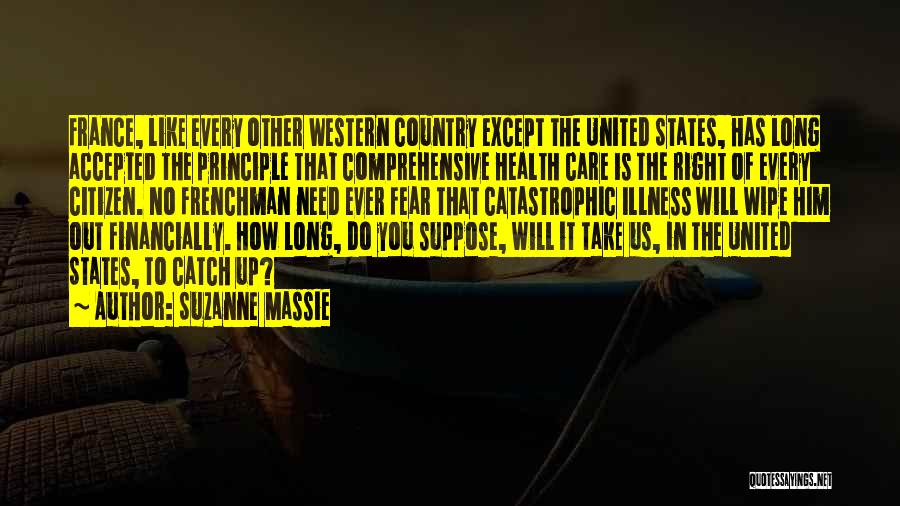 The Western Us Quotes By Suzanne Massie