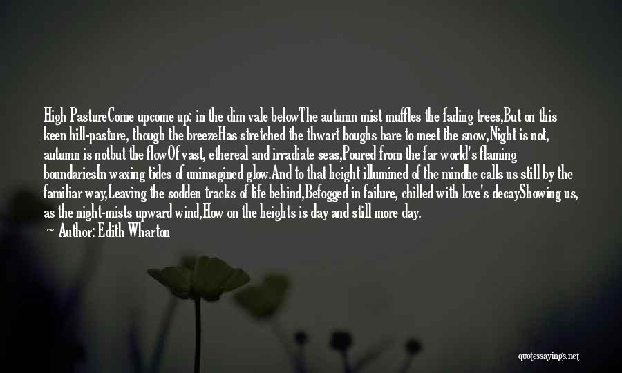 The Wind And Love Quotes By Edith Wharton