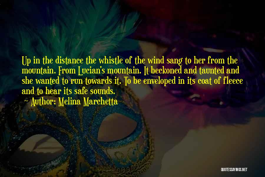 The Wind And Love Quotes By Melina Marchetta