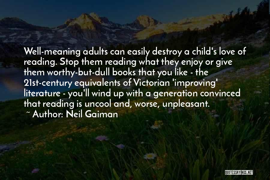 The Wind And Love Quotes By Neil Gaiman