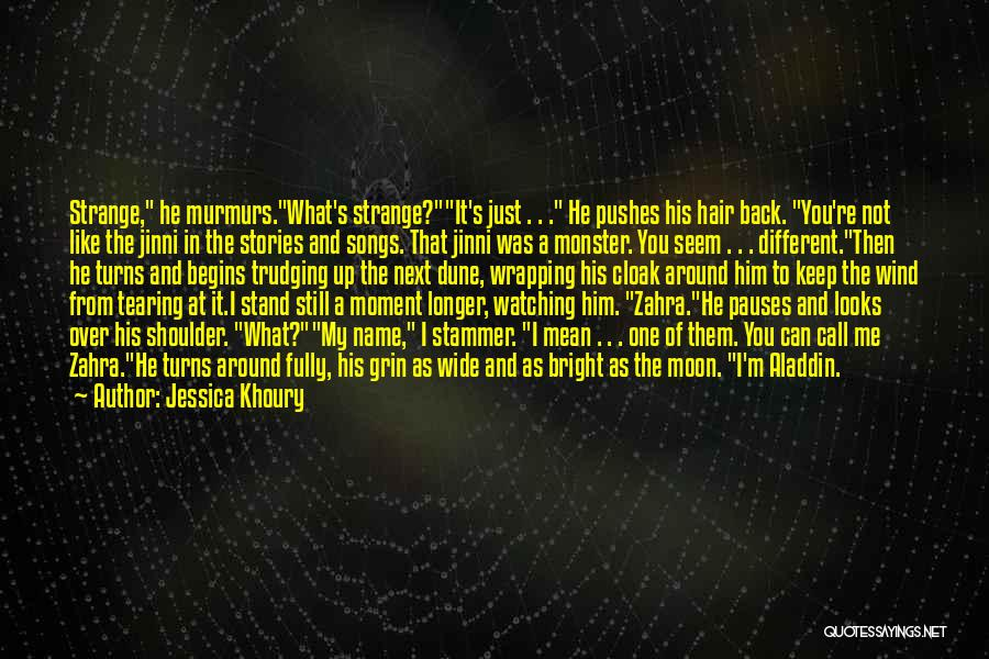 The Wind In My Hair Quotes By Jessica Khoury