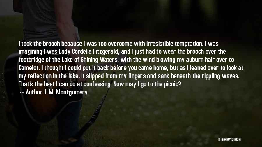 The Wind In My Hair Quotes By L.M. Montgomery