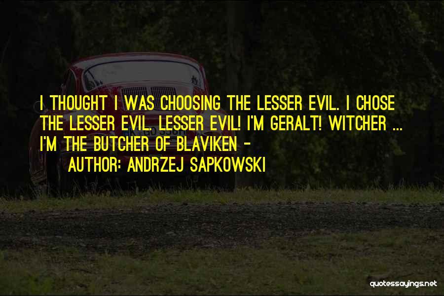 The Witcher 3 Quotes By Andrzej Sapkowski