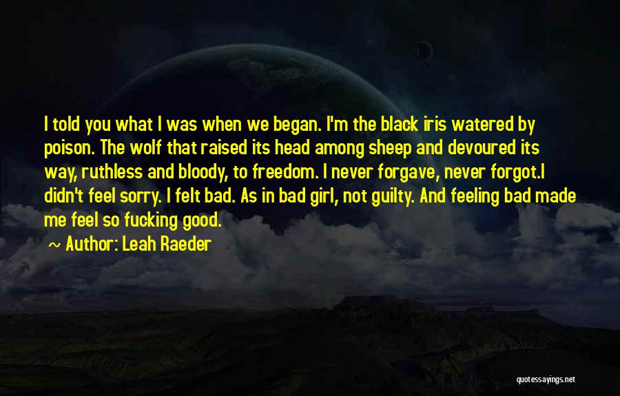 The Wolf Among Us Quotes By Leah Raeder