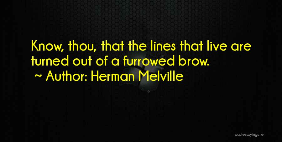 The Wood Stacey Quotes By Herman Melville