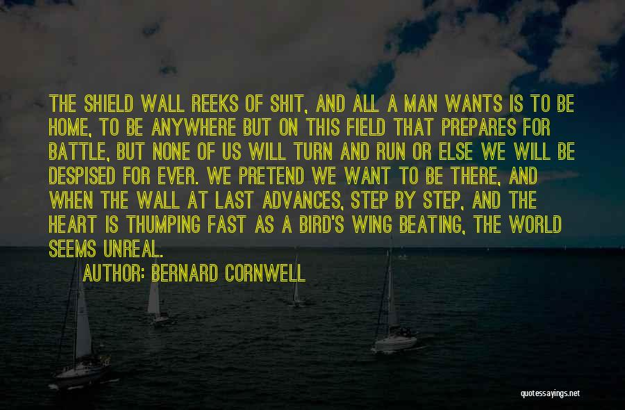 The World And Home Quotes By Bernard Cornwell