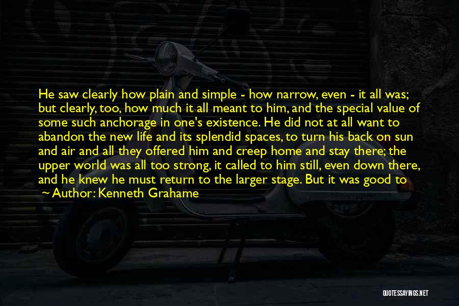 The World And Home Quotes By Kenneth Grahame