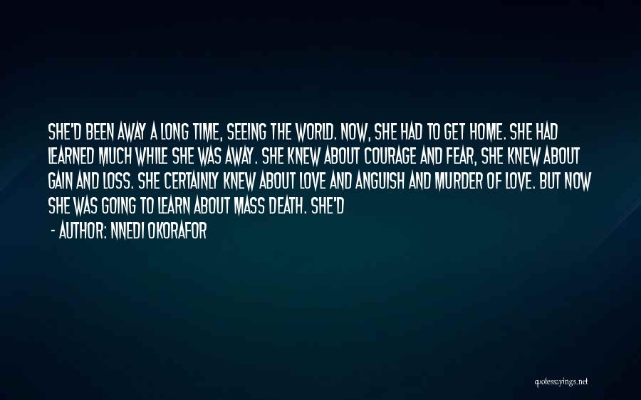 The World And Home Quotes By Nnedi Okorafor