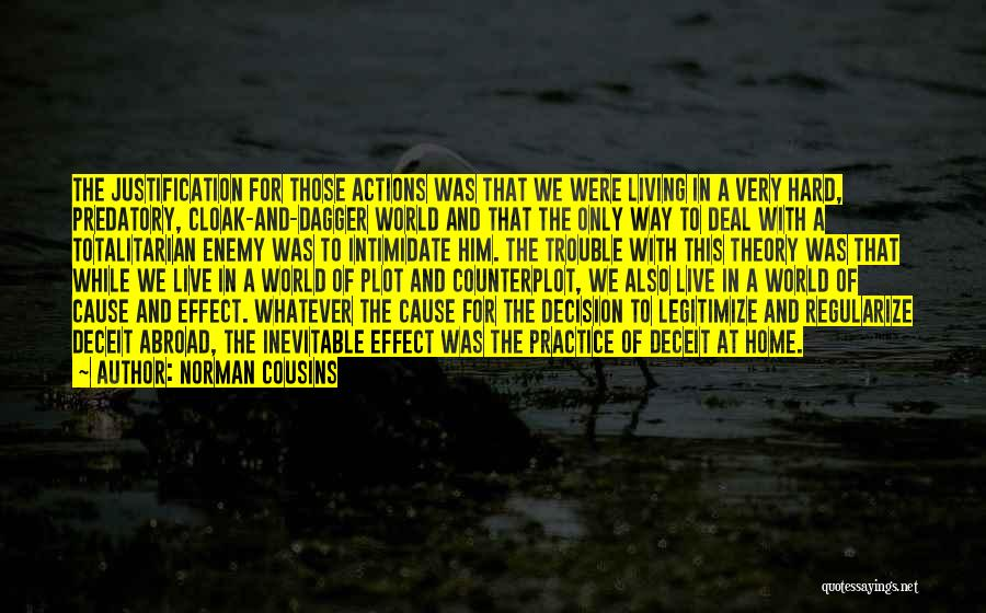 The World And Home Quotes By Norman Cousins