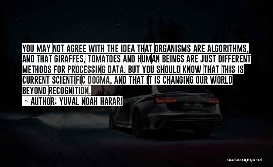 The World Changing You Quotes By Yuval Noah Harari