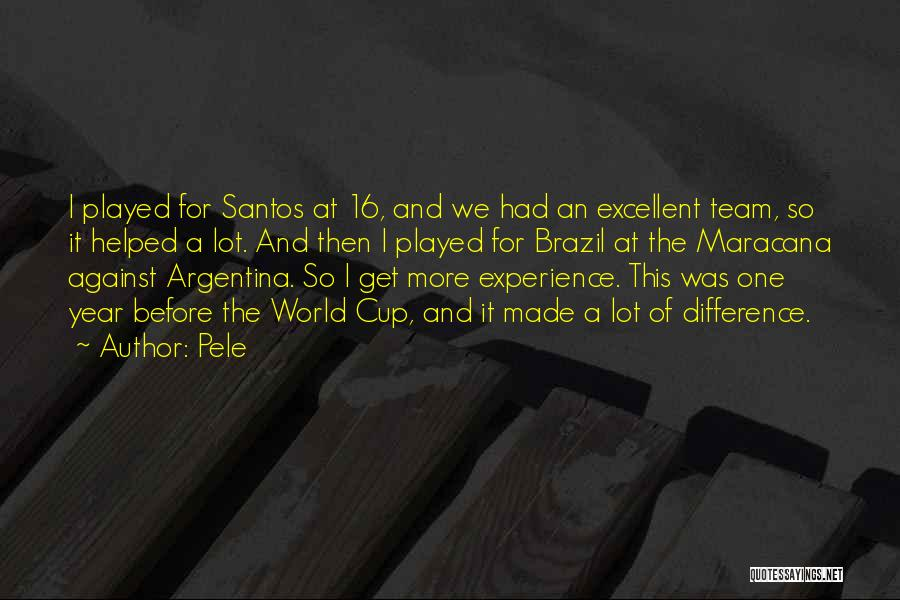 The World Cup In Brazil Quotes By Pele