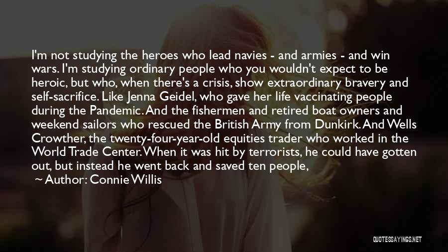 The World Trade Center Quotes By Connie Willis