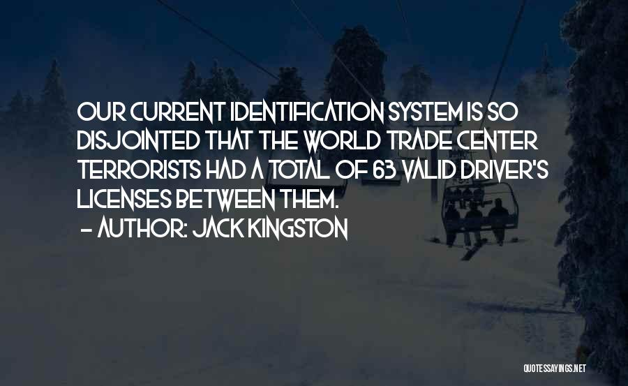 The World Trade Center Quotes By Jack Kingston