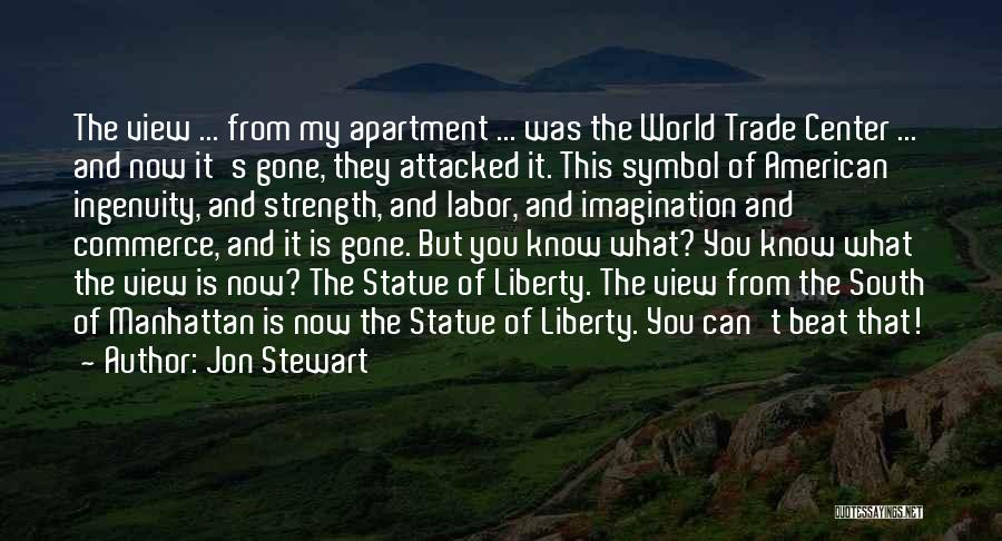 The World Trade Center Quotes By Jon Stewart