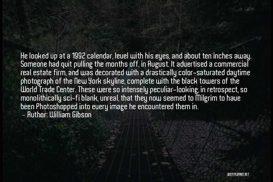 The World Trade Center Quotes By William Gibson