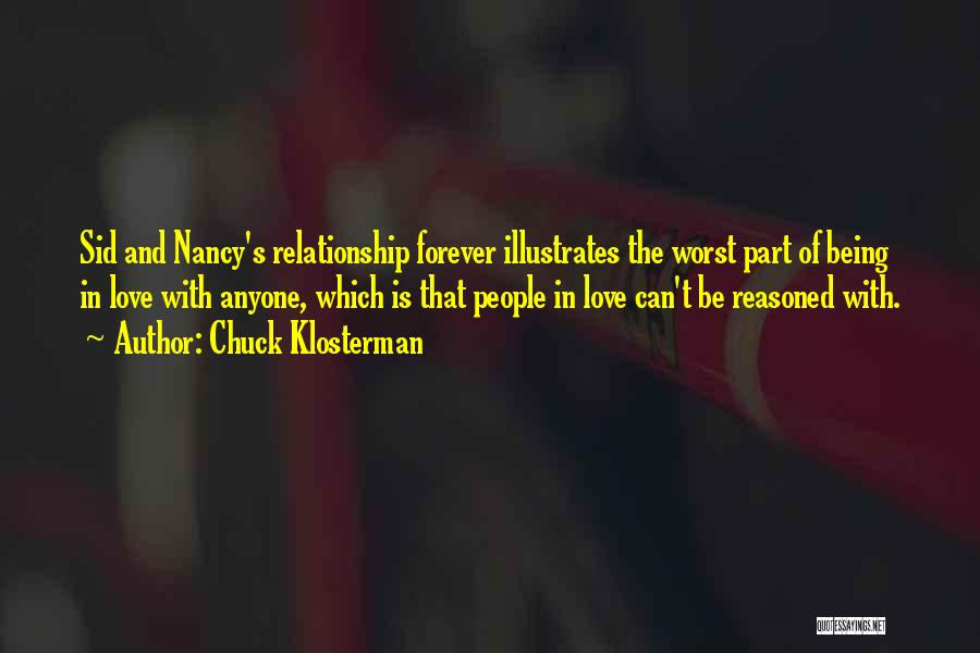 The Worst Relationship Quotes By Chuck Klosterman
