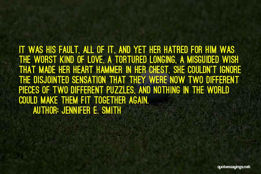 The Worst Relationship Quotes By Jennifer E. Smith