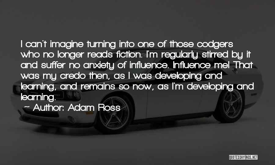 Then And Now Quotes By Adam Ross