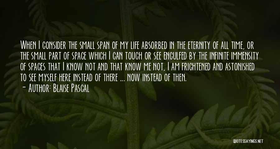 Then And Now Quotes By Blaise Pascal