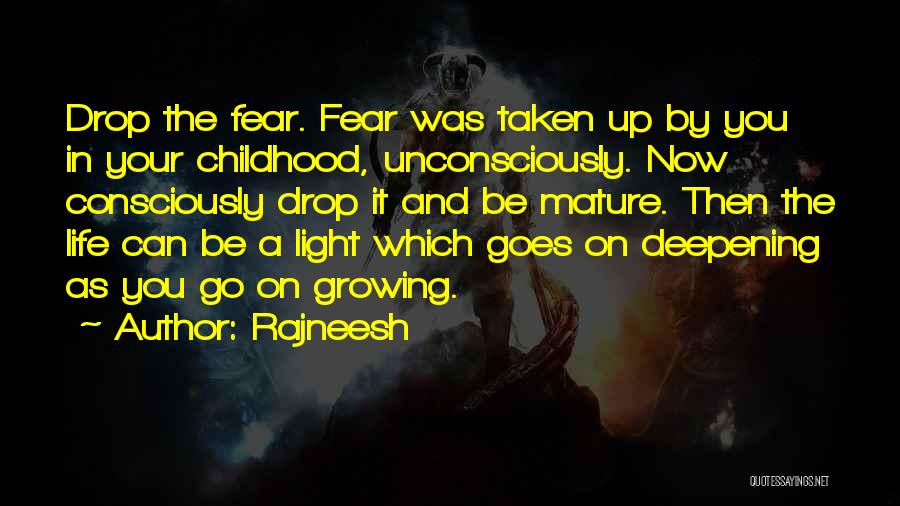 Then And Now Quotes By Rajneesh