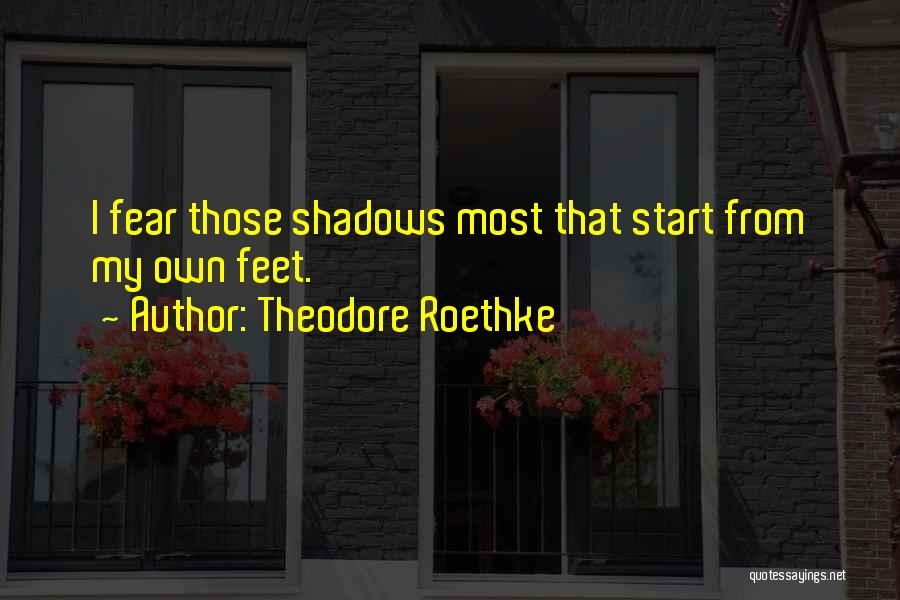 Theodore Roethke Quotes 1020393