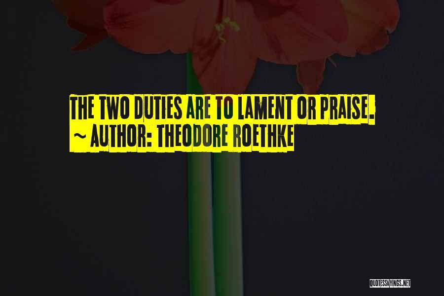 Theodore Roethke Quotes 1054921