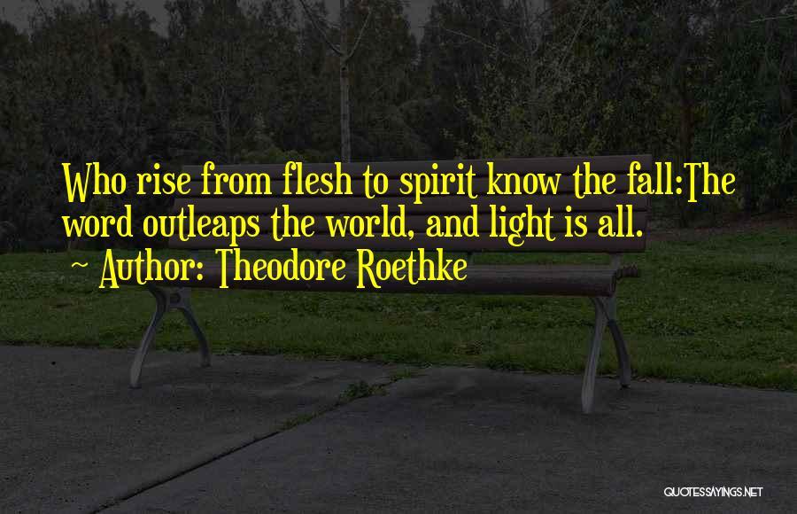 Theodore Roethke Quotes 1463779