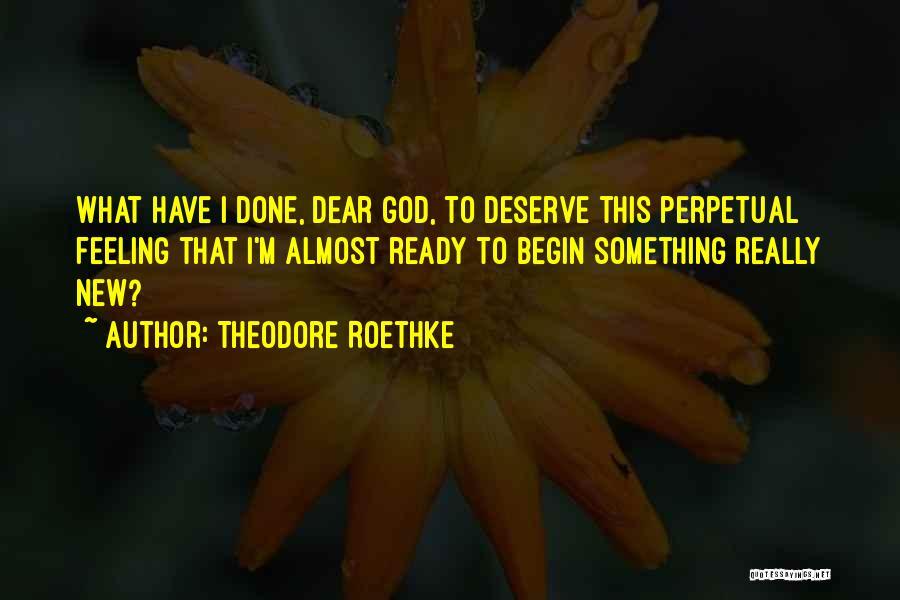 Theodore Roethke Quotes 1626479