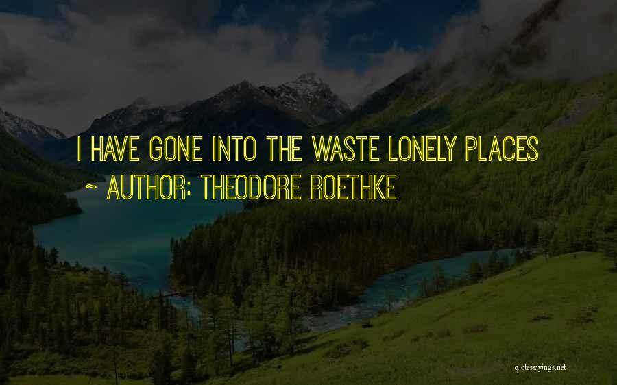 Theodore Roethke Quotes 1670553