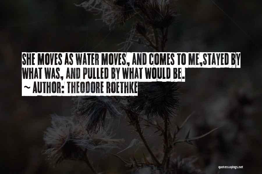 Theodore Roethke Quotes 1819712