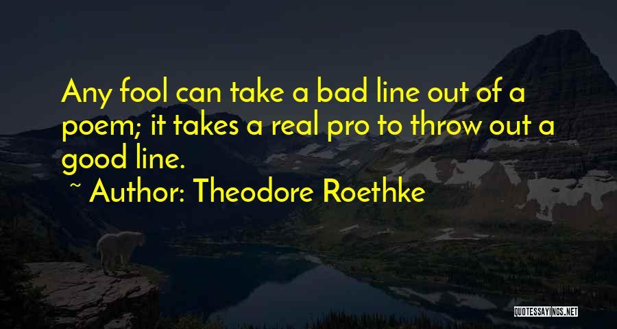 Theodore Roethke Quotes 1839647