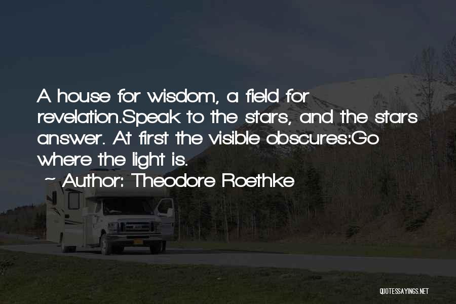 Theodore Roethke Quotes 1932586
