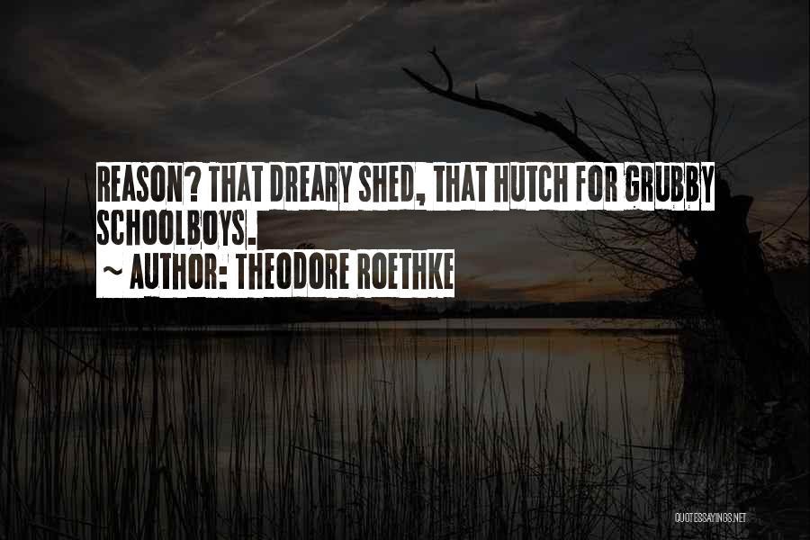 Theodore Roethke Quotes 2082690